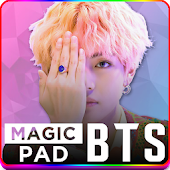 BTS Magic Pad: Tap tap Dancing Pad Game kpop 2018