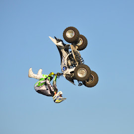 On The Wrong Side by Savannah Eubanks - Sports & Fitness Motorsports ( backflip, quad,  )