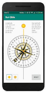 Download Sun Qibla - Find Qibla using Sun position For PC Windows and Mac apk screenshot 3