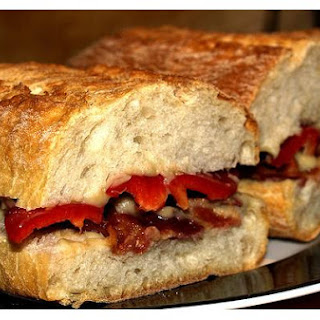 Aubergine Sandwiches