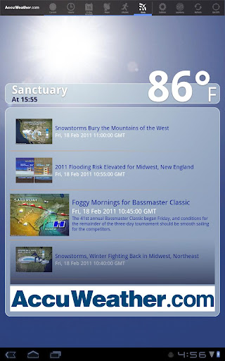 AccuWeather for Sony Tablet S screenshot 8