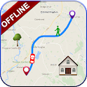 GPS Offline Navigation Route Maps & Direction icon