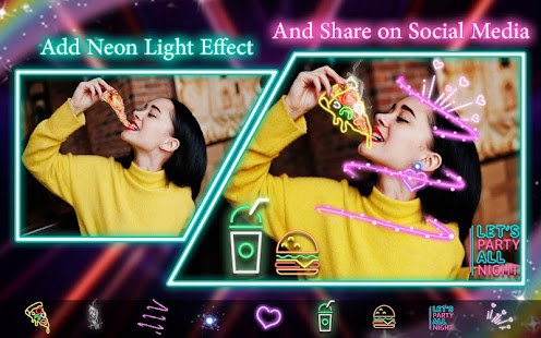 Download Neon filter photo editor - custom neon signs For PC Windows and Mac apk screenshot 3