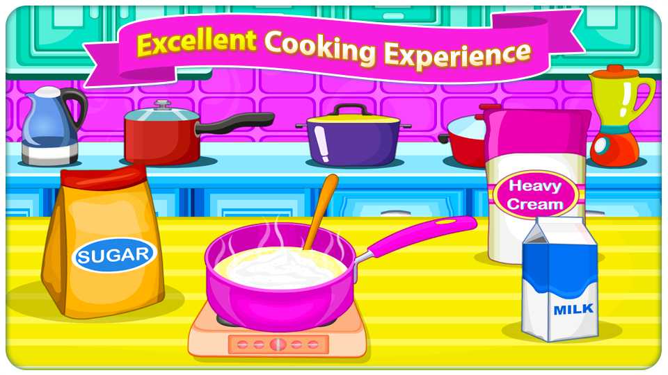 Screenshots of Gelato Passion - Cooking Games for iPhone