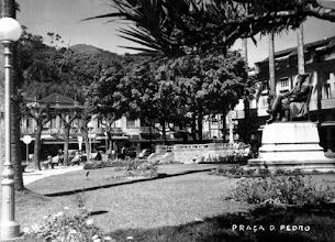 Photo: Praça D. Pedro. Foto sem data