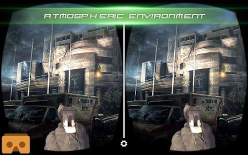 VR Modern Counter Shot 3D - náhled