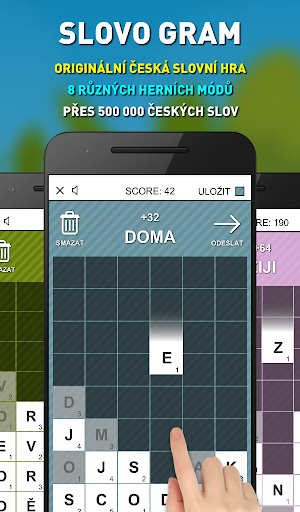 Slovo Gram - u010cesku00e1 Slovnu00ed Hra (verze zdarma) apkmr screenshots 1