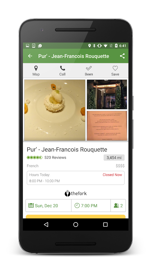 Screenshots of TripAdvisor for Android