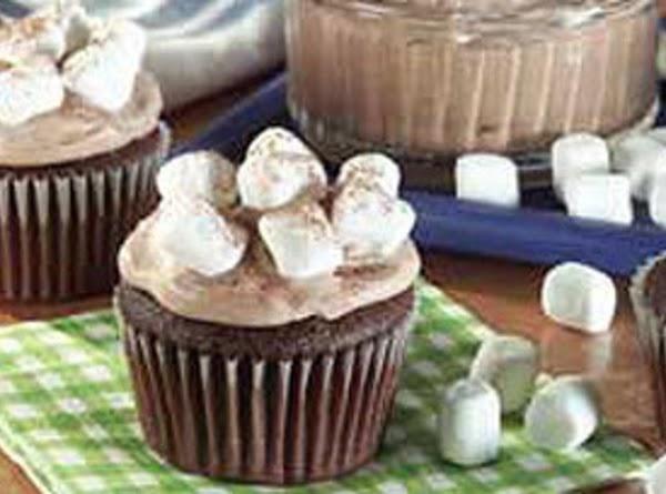 Hot Coco Coco Mallow Cupcakes Recipe