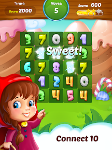 Connect 10 - Fun Math Puzzle- screenshot thumbnail