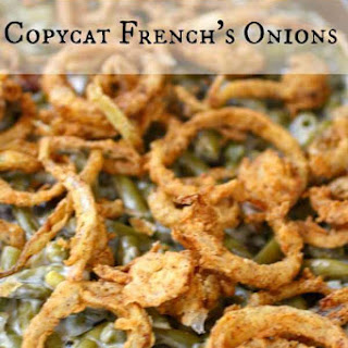 Copycat French's Onions
