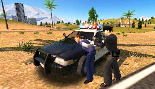 Crime City Police Car Driver apktram screenshots 2