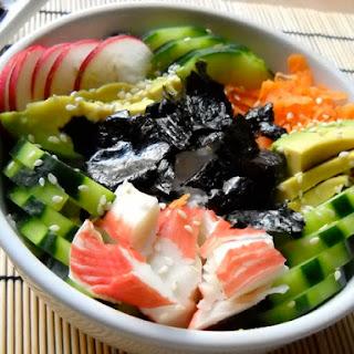Sushi-in-a-Bowl Recipe