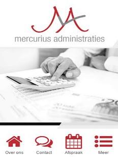 Mercurius Administraties - náhled
