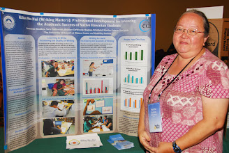 Photo: Photo: Martha Guinan at the 2013 Poster Session