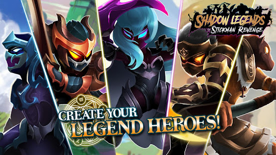 Shado Legends : Stickman Revenge - Game RPG