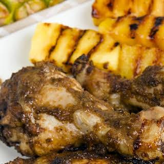 Pineapple Jerk Chicken.