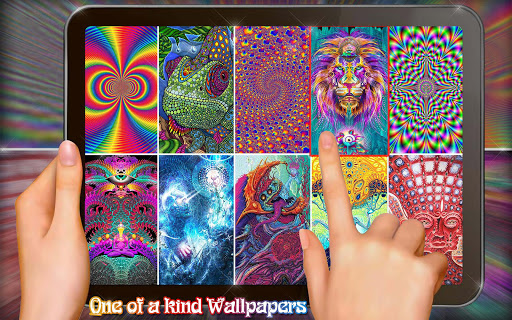 Trippy Wallpapers Live 💫 Psychedelic Images