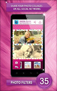 InstaCam - Best Photo Editor screenshot