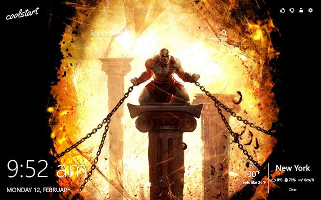God Of War Hd Wallpapers Kratos Theme