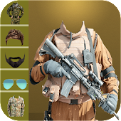 Army Suit Photo Editor 2018