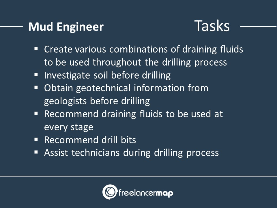 Roles and responsibilities of a Mud Engineer
