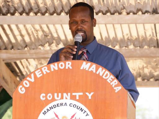 Mandera Governor Ali Roba