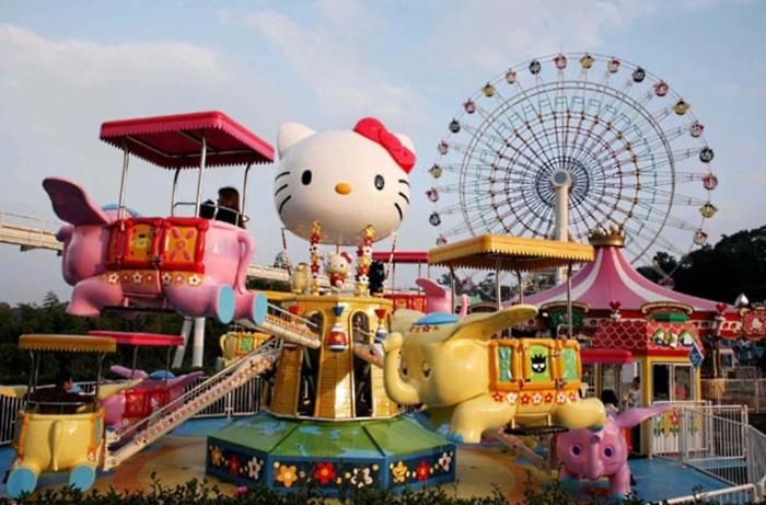Hello Kitty Town Tour