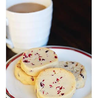 Butter Biscuits With Cranberries and Chocolate Chips & Almond Nuts.
