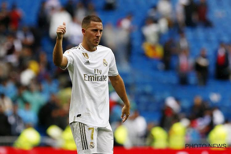 """Eden Hazard : """"Tu sens la connexion entre le Real Madrid et la Ligue des champions"""""""