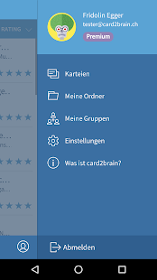 card2brain Lernkarten – Miniaturansicht des Screenshots