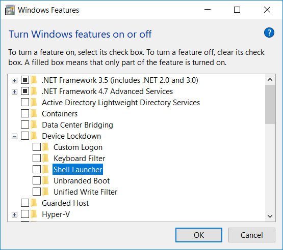 Terence Luk: Configuring a custom shell launcher with VMware Horizon