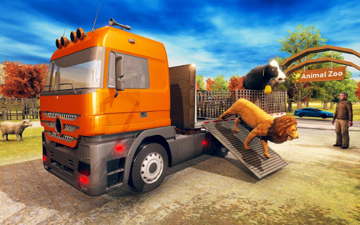 Wild Animal Transporter Truck Simulator Games 2018 screenshots 15
