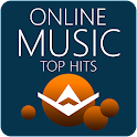 Online music streaming icon