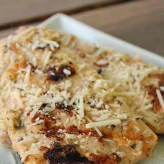 Garlic Parmesan Herb Salmon.