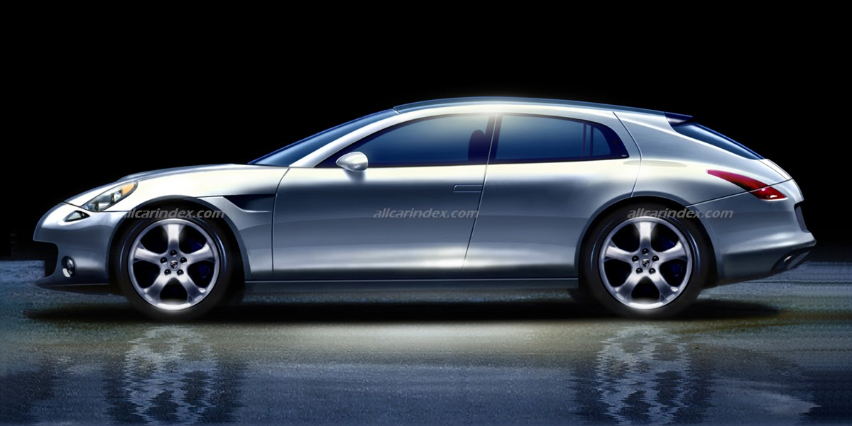 EXCLUSIVE! Mirage, Meteor and Phantom concepts of Porsche Panamera