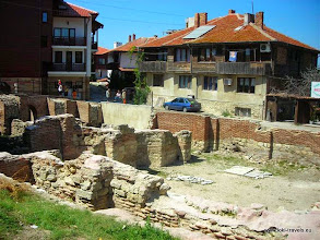 Photo: Nessebar, opgraving | dig out.  www.loki-travels.eu