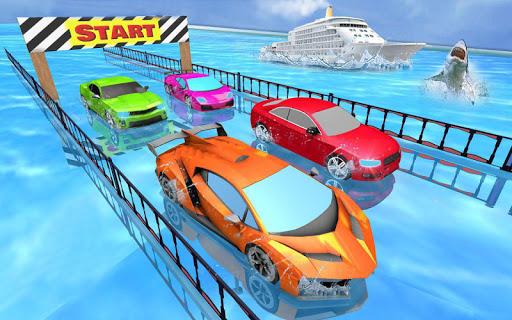 Car Racing Stunt Game - Mega Ramp Car Stunt Games apkpoly screenshots 2