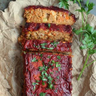 (Almost) Classic Chickpea Vegan Meatloaf.