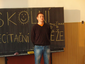 Photo: Školní kolo recitační soutěže - Bruno z 3. A.
