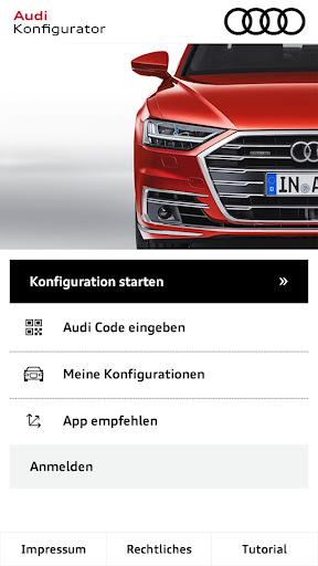 Audi Konfigurator Deutschland screenshot 1