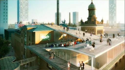 Forhåndsvisning af Carlsberg Brand &Experience Centre-forslag