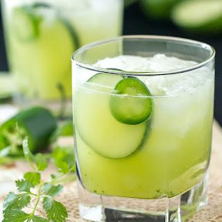 Cucumber Jalapeño Cilantro Margarita.