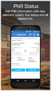Live Train IRCTC PNR Status & Indian Rail Info - náhled