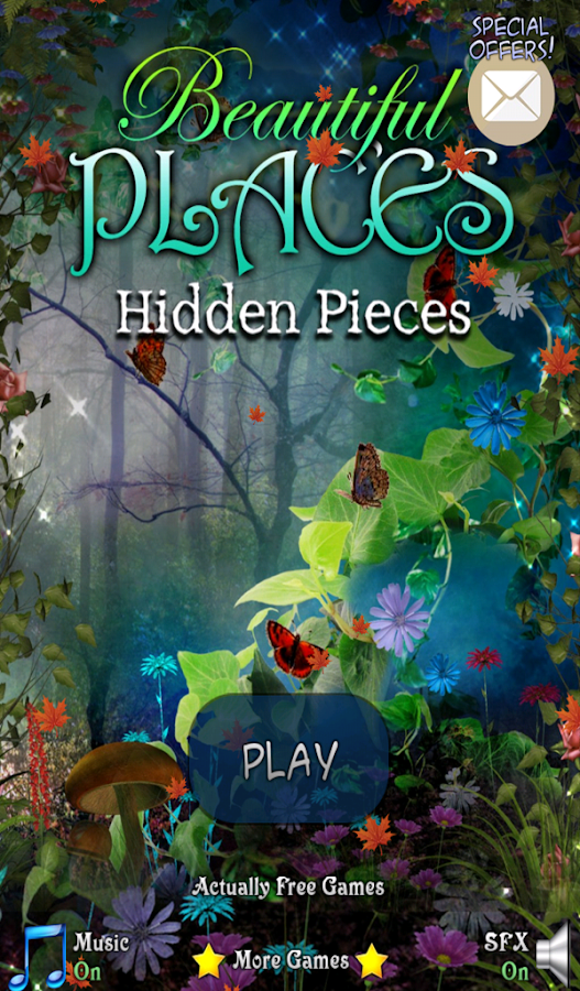 Hidden Pieces Beautiful Places- screenshot