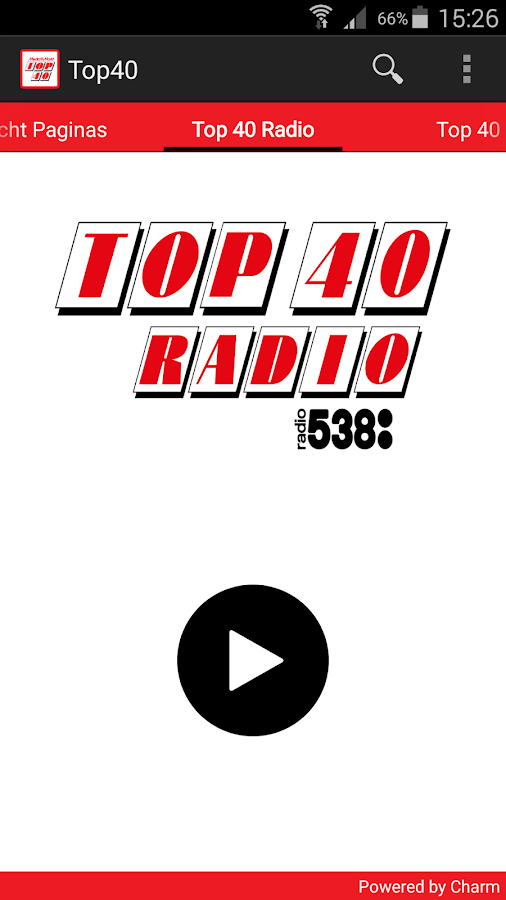 Top 40: screenshot