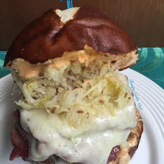 The Rueben Burger #BurgerMonth.