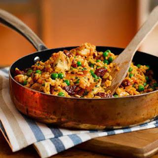 Easy Chicken and Chorizo Paella Recipe