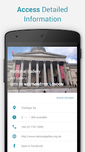 London Offline City Map - náhled