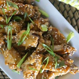 Thai Peanut Spiced Chicken Wings